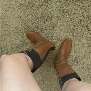 SACKS FIFTH AVENUE leather riding boots